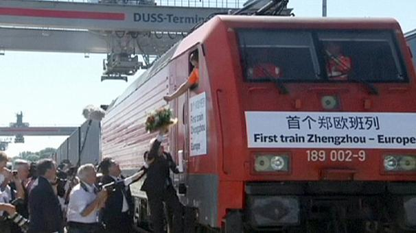 New freight train link between China and Germany