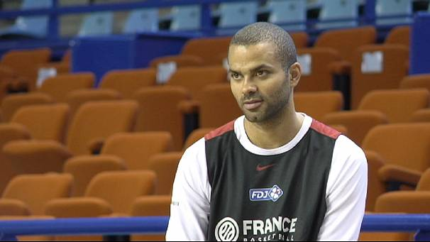 Basketball star Tony Parker hoping for glory at European Championships in Slovenia