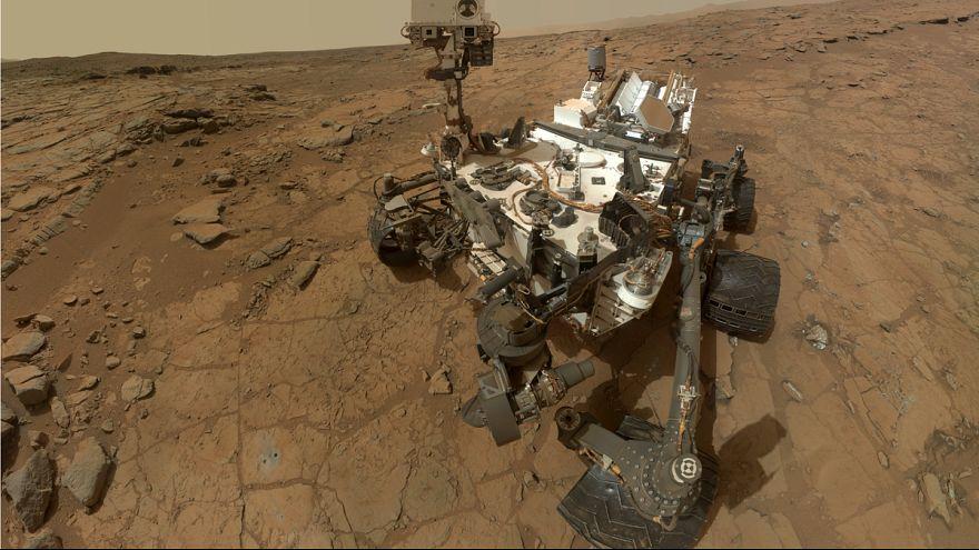 Curiosity souffle sa première bougie martienne