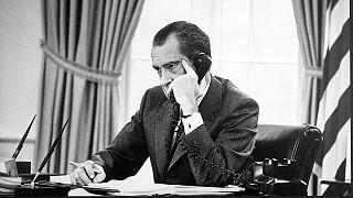 Rétromachine : Richard Nixon démissione