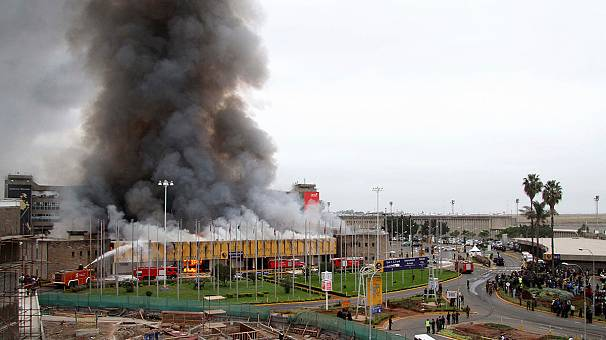 Nairobi airport fire: Kenya government admits fire crews were short on water