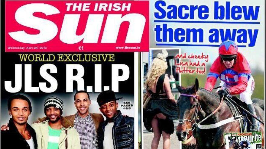 The Irish Sun scraps bare breasts on Page 3