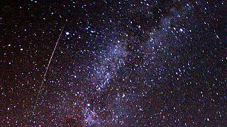 Meteorenschwarm: Höhepunkt am Montagabend