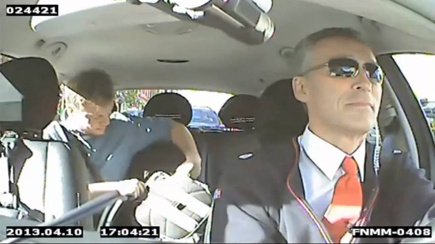 Norway PM works as undercover taxi driver as part of re-election campaign