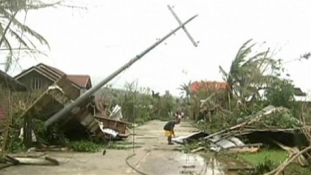 Deadly typhoon strikes the Philippines
