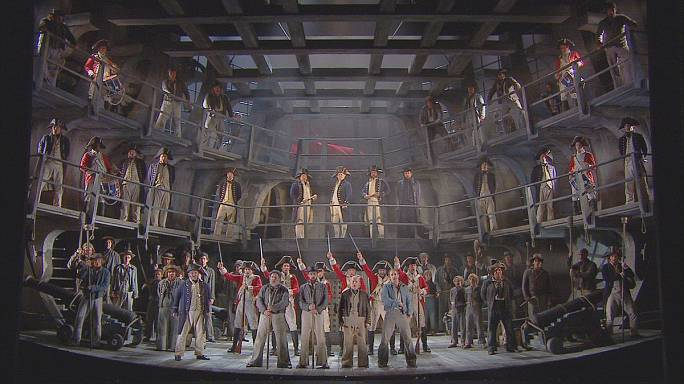 Operada hayal et: Billy Budd
