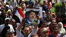 Muslims take to the streets in support of Egypt's Mursi