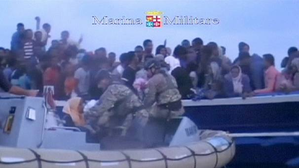 More than 600 migrants rescued in Italian seas