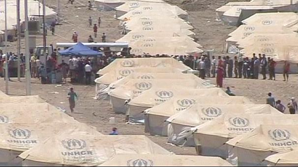 Limit imposed on refugees crossing Iraq-Syria border