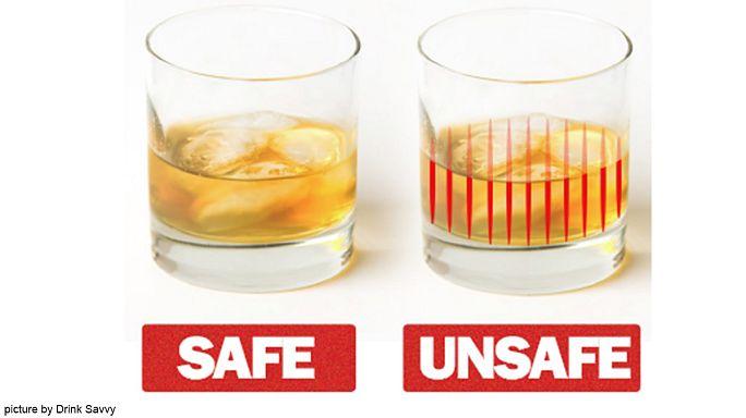 """Des verres et des pailles détectent """"la drogue du violeur"""""""