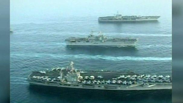 Estados Unidos despliega sus barcos de guerra ante un posible ataque en Siria