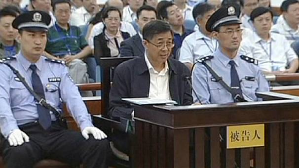 China: Prosecutors call for 'heavy sentence' in Bo Xilai trial