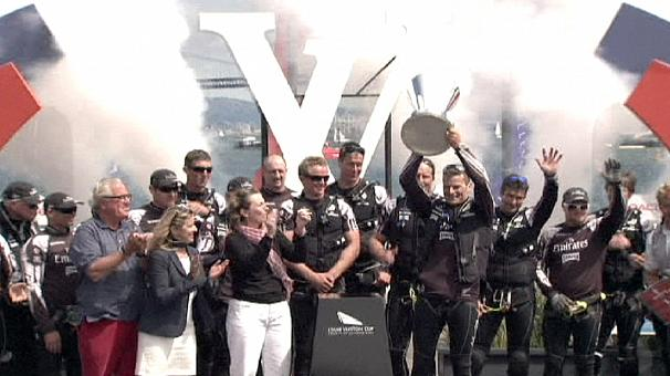 Team New Zealand win Louis Vuitton Cup final