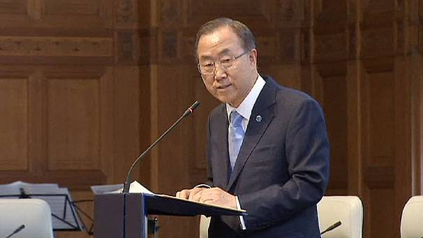 Ban Ki-moon tells Security Council 'give peace a chance' in Syria