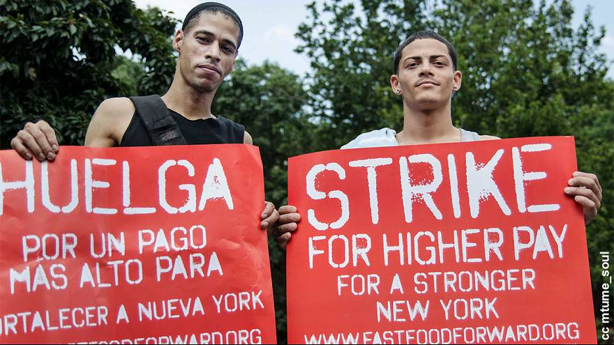 Les employés des fast food américains de nouveau en grève pour leurs salaires