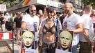 Russian gay rights demo in Germany