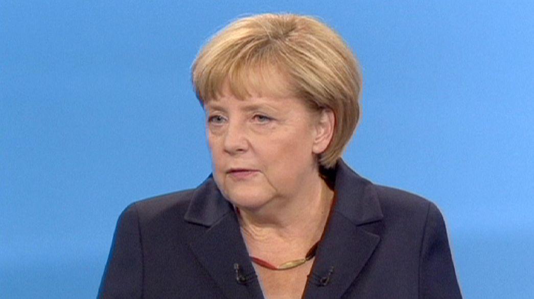 Empate técnico en el único debate televisado de la campaña alemana