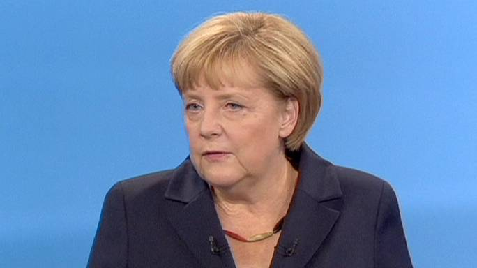 Angela Merkel conforte sa place de favorite à l'issue du débat télévisé