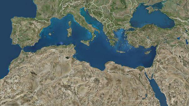 Минобороны РФ: в Средиземном море запущены две баллистические ракеты