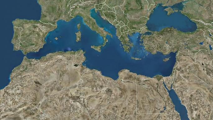 Rakétakilövést észleltek a Földközi-tengeren