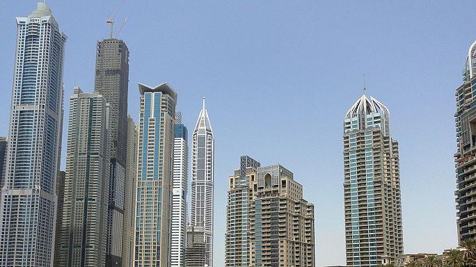Dubai bomb threat woman used rolled-up cardboard to mimic explosives belt