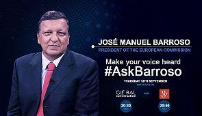 Con #AskBarroso puoi fare le tue domande sullo stato dell'Unione europea