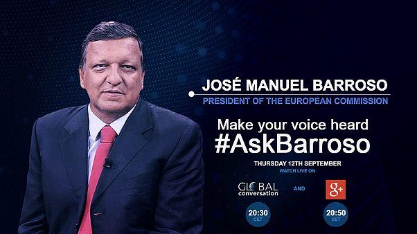 Спросите президента Баррозу о состоянии Европейского союза:  # AskBarroso