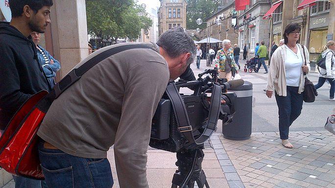 Filming 'Poor Germany'