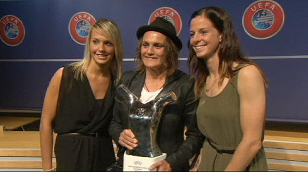 Angerer Wins European Footballer of the Year Award