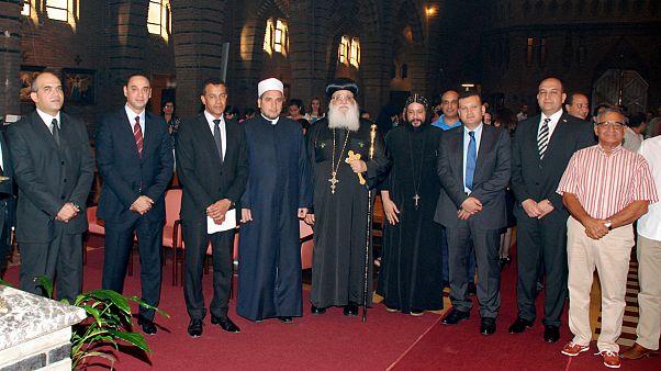 المصريون في بيلجيكا يقيمون الصلاة من اجل وحدتهم الوطنية
