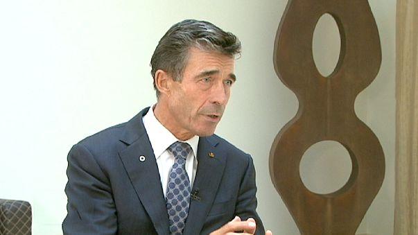 Rasmussen: Diktatörlere güçlü mesaj verilmeli