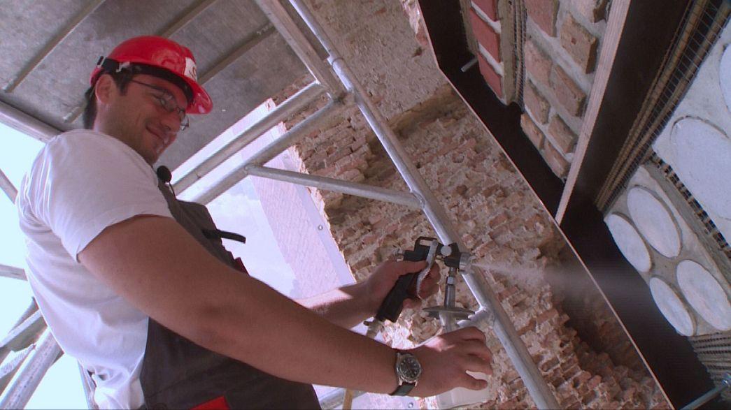 پوششی جدید برای نگهداری بناهای تاریخی