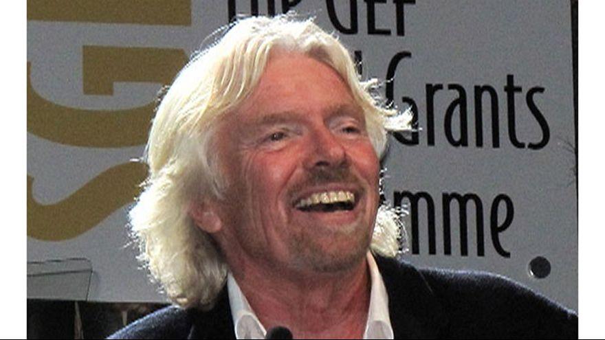 Richard Branson alcança triplo recorde do Guinness