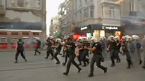 Clashes in Istanbul after protester killed in southern Turkey