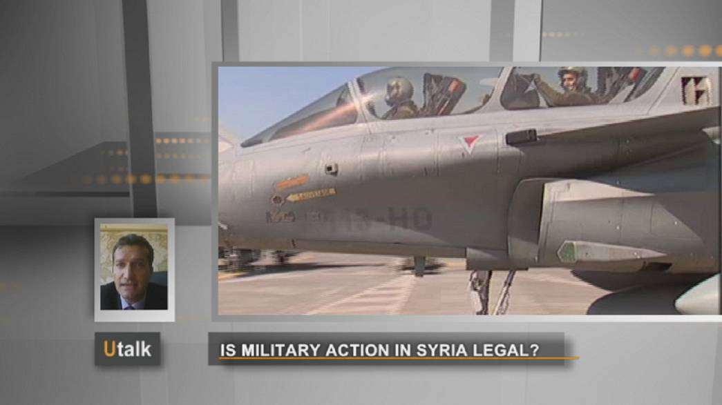 سوريا: هل يوجد أساس قانوني لتدخل عسكري؟