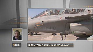Une intervention militaire en Syrie aurait-elle une base légale?