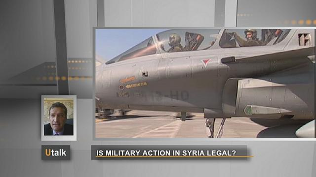 Is military intervention in Syria legal?