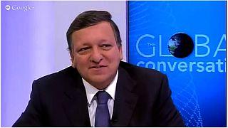 Interactive Hangout with José Manuel Barroso