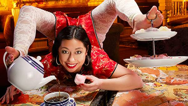 Watch the back-bending contortionist who's made the Guinness World Records 2014