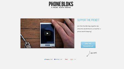 Phonebloks, un téléphone durable