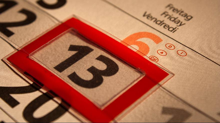 Friday the 13th: the 'most feared' date in the calendar
