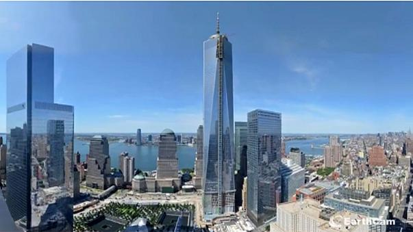 Time-lapse video of One World Trade Center being built - US marks 9/11 anniversary
