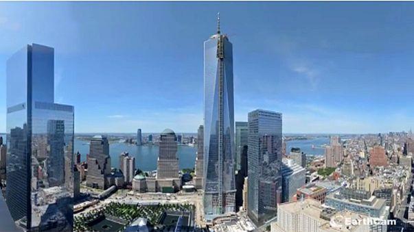 Megdöbbentő videó a One World Trade Center építéséről