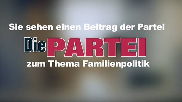 Saucy party ad spices up dull German election campaign - Video
