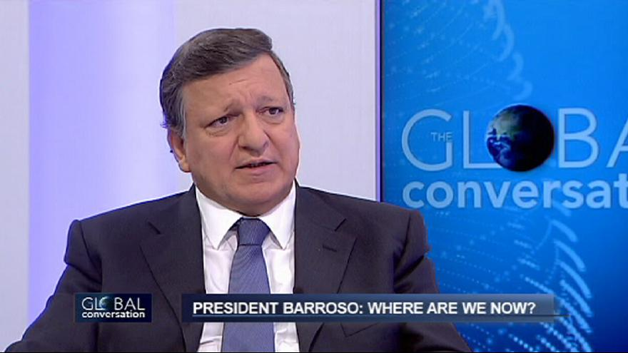 Barroso: 'Figures show start of economic recovery'