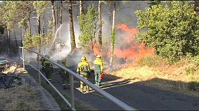 Spagna: gli incendi bruciano la Galizia