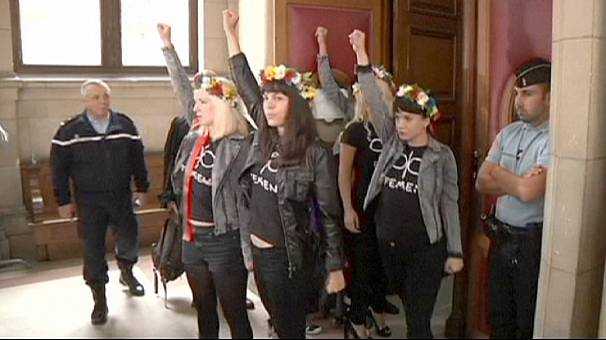 Femen Notre Dame protest trial adjourned in Paris