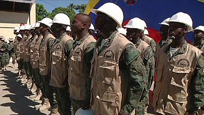 Haiti takes first steps towards rebuilding its army