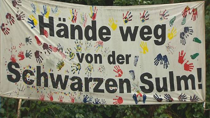 Une rivière sème la discorde entre une région autrichienne et l'UE