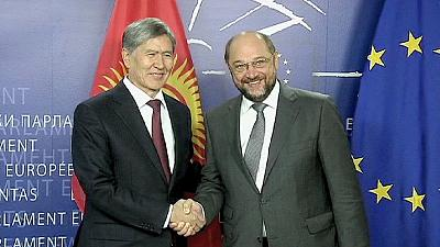 Kyrgyzstan turns to EU for advice on democracy